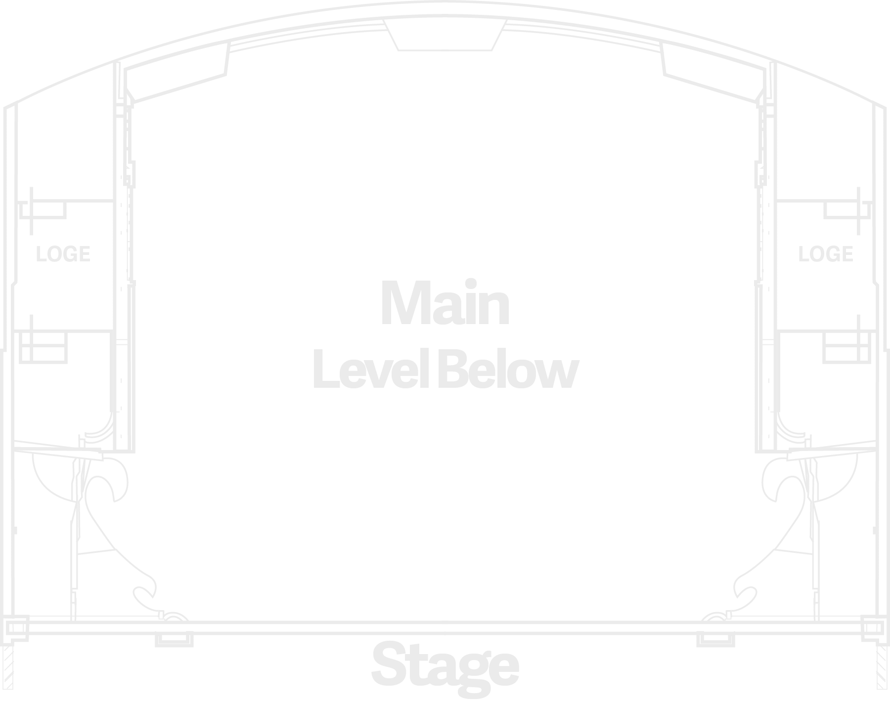 Mail Level Seating Below